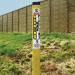 Gas marker