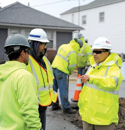 National Grid contractors