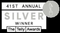 41st Annual Telly Awards Silver Winner